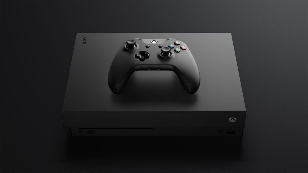 Xbox One X_Console Controller_FrontTilt Top